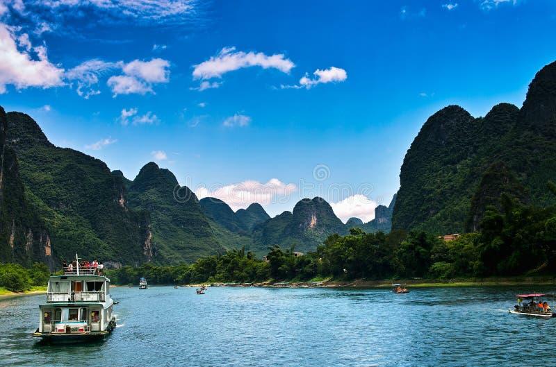 Landscape of li jiang royalty free stock photo
