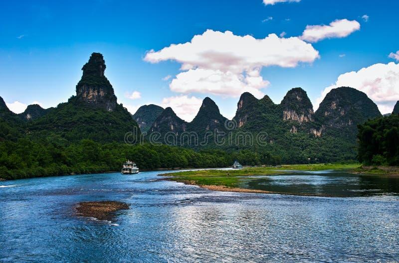 Landscape of li jiang stock image