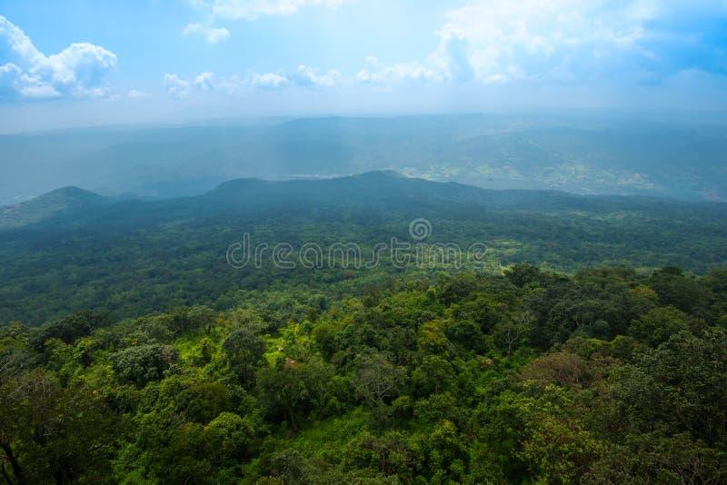 Landscape Lom Sak cliff stock image