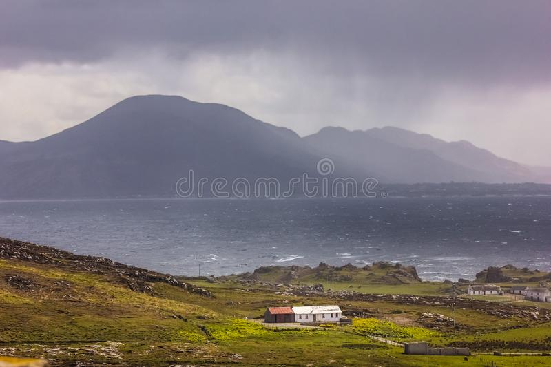 Landscape. Malin Head. Inishowen. county Donegal. Ireland. Costal landscape. Malin Head. Inishowen Peninsula. county Donegal. Ireland royalty free stock images
