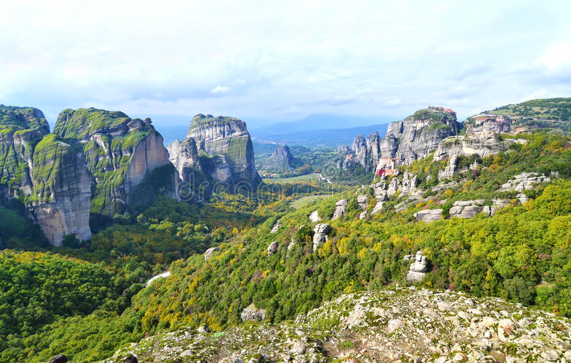 Download Landscape Of Meteora Greece Stock Photo - Image: 83721588