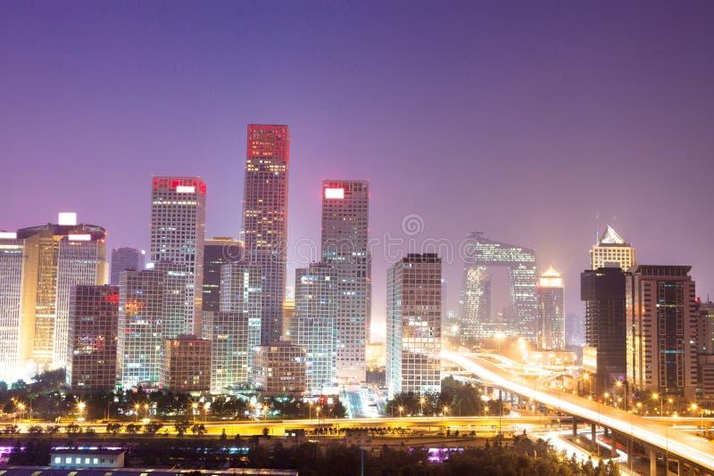 Landscape of modern city stock photos