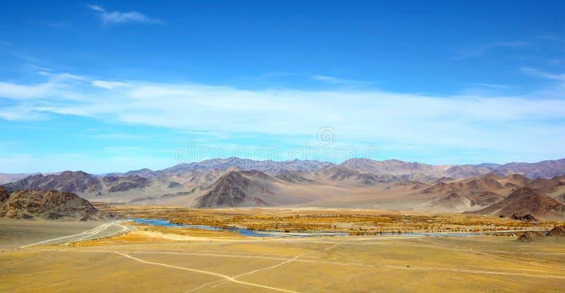 landscape mongolianen royaltyfria bilder