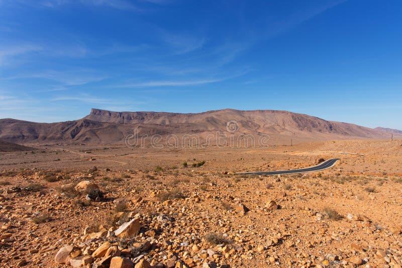 Landscape in Morocco stock photo