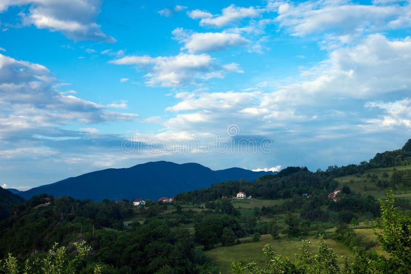 Landscape with mount royalty free stock image