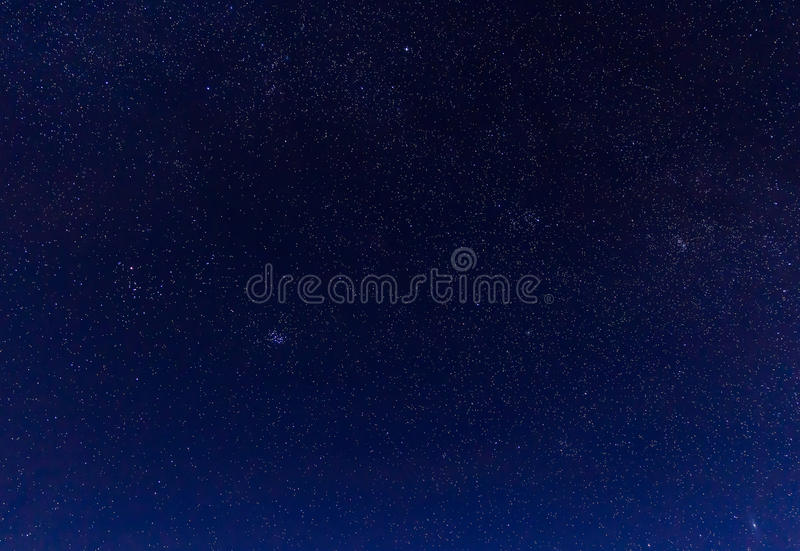 Landscape with mountains and blue sky in winter night stock images
