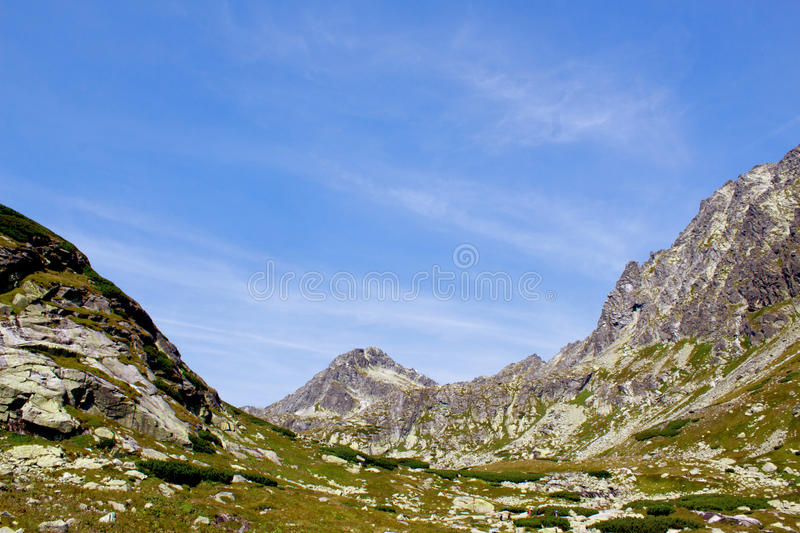Landscape with mountains royalty free stock images
