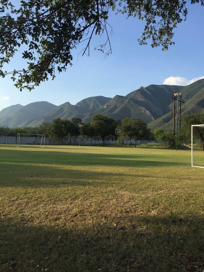 Great Mountains. Landscape Mountains in Mexico Monterrey royalty free stock photos