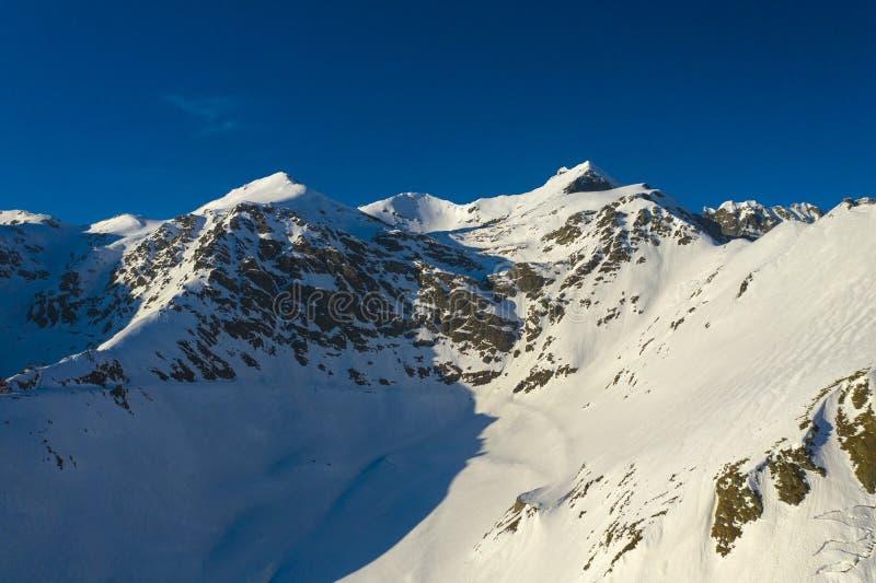 Landscape with mountains range stock photos
