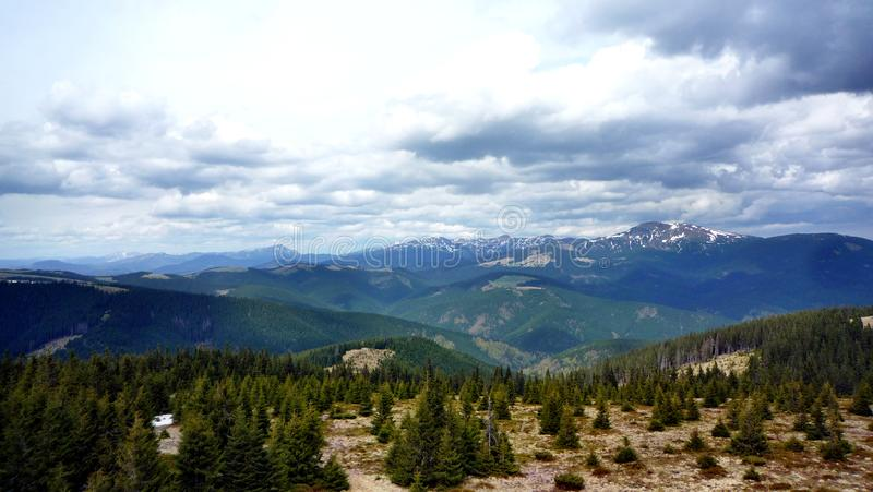 Landscape in the mountains royalty free stock image