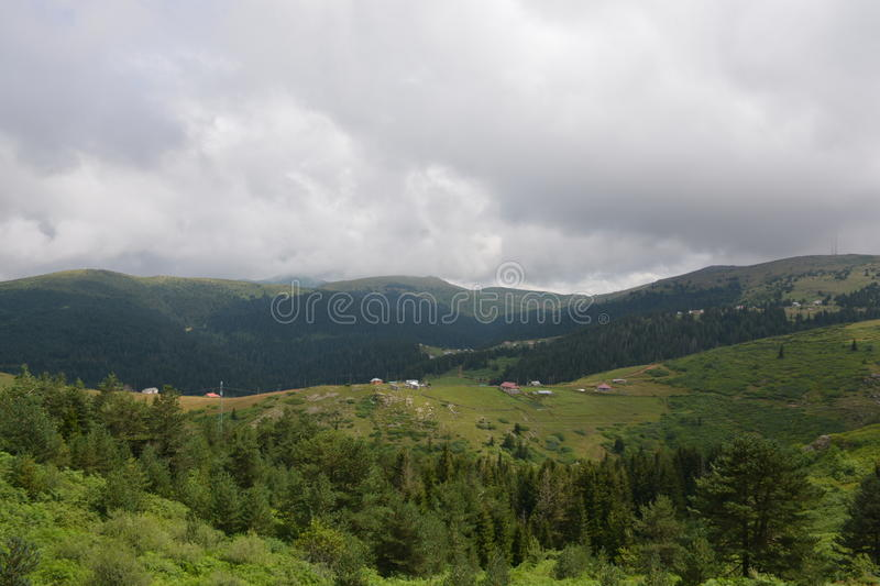 Landscape Mountains in Turkey stock photography