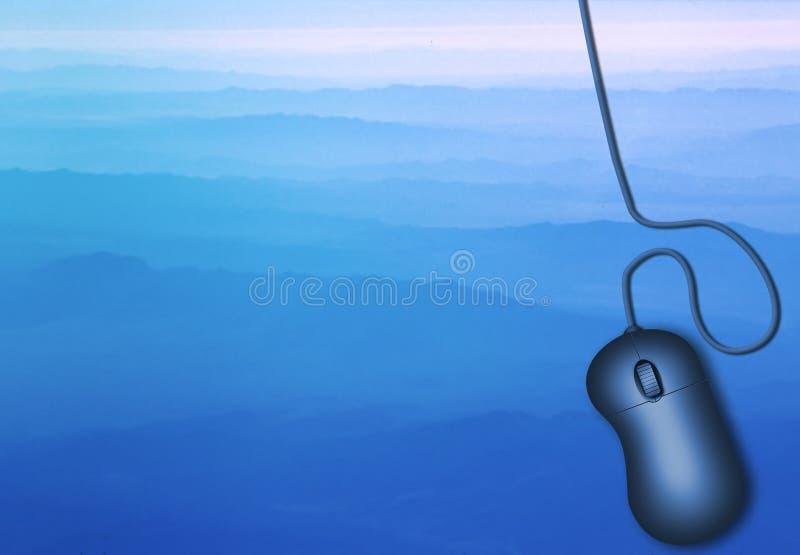Landscape Mouse vector illustration