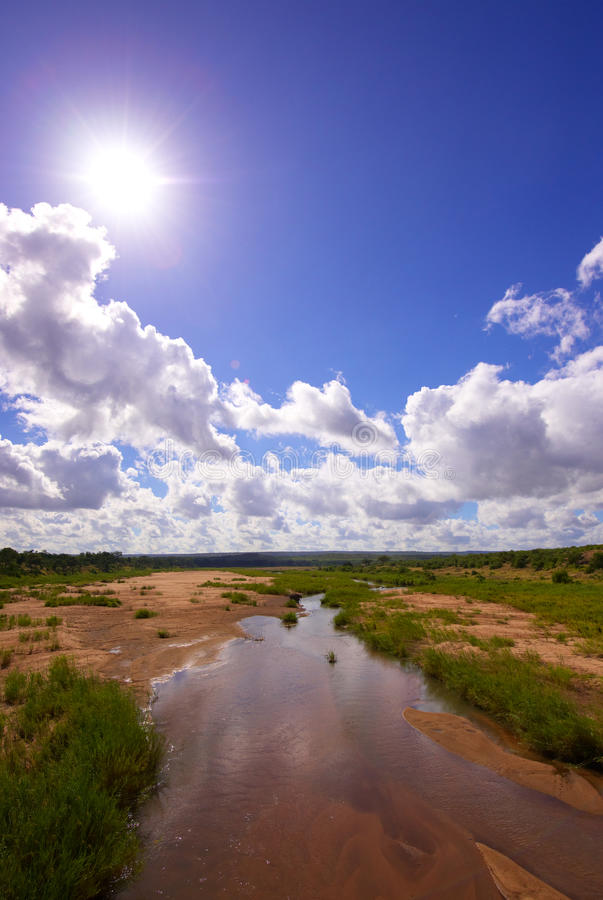 Landscape in the nature reserve royalty free stock photo
