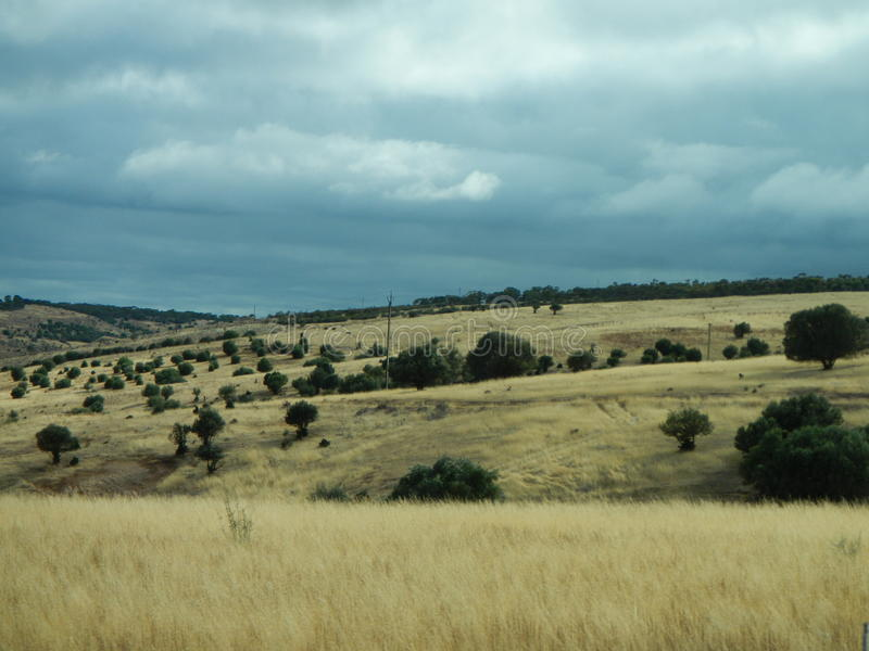 Landscape near Adelaide, Australia. Photography taken to landscape located near Adelaide, Australia royalty free stock images