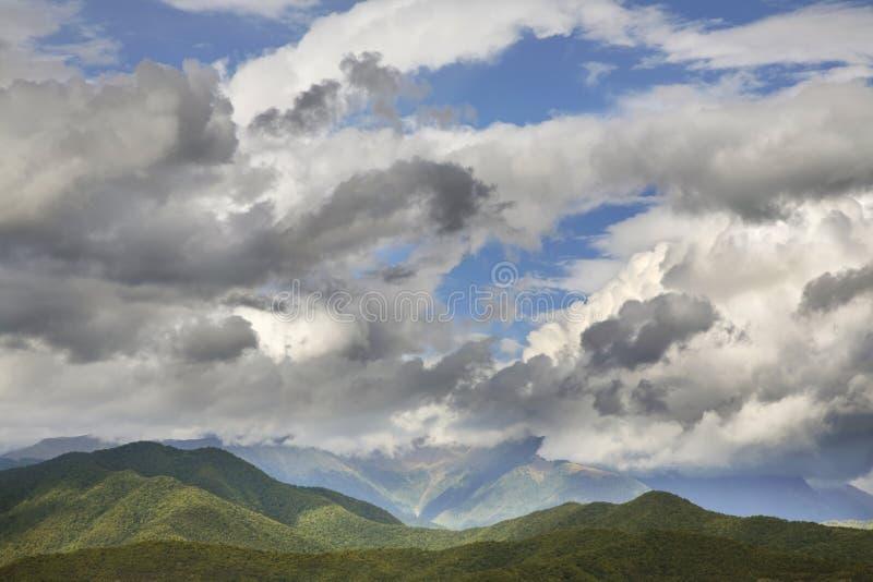 Landscape near Alaverdi. Kakheti. Georgia.  royalty free stock images