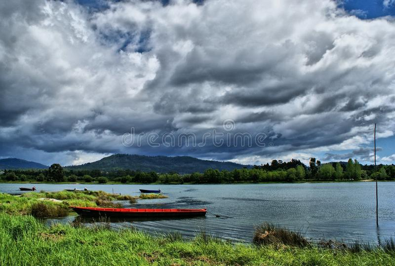 Download Landscape Near Lima River In Viana Do Castelo Stock Photo - Image: 66709362