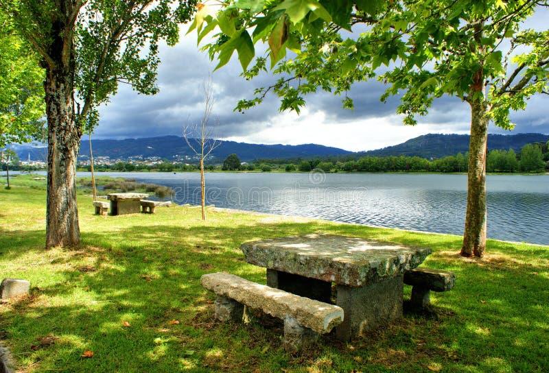 Download Landscape Near Lima River In Viana Do Castelo Stock Image - Image: 66709363
