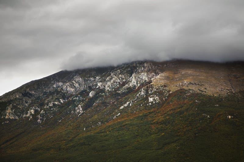 Landscape near Saint Naum. Macedonia stock images