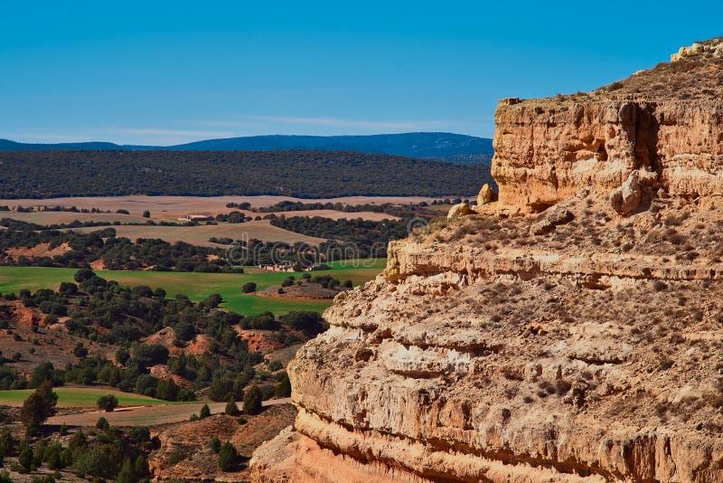 Landscape near Teruel city, Aragon, Spain royalty free stock photo