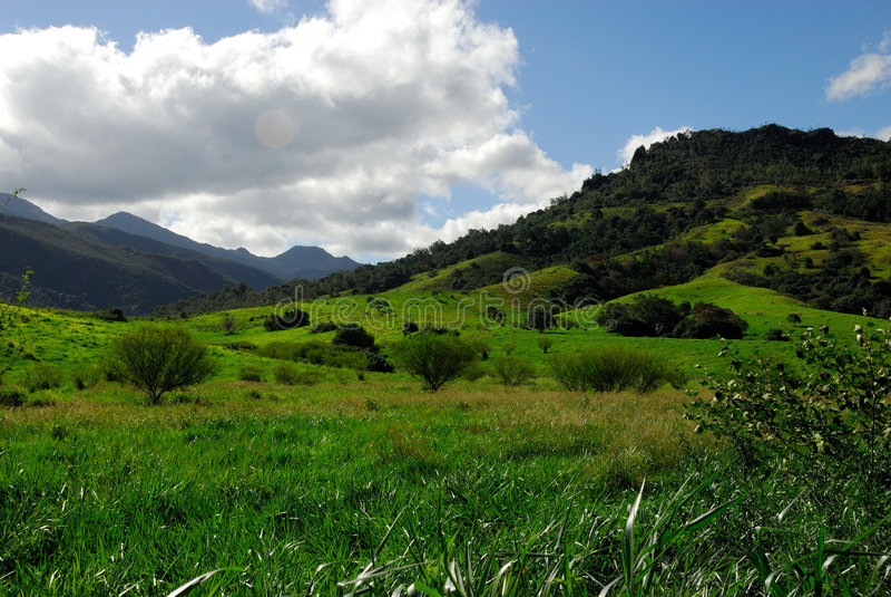 Landscape new caledonia royalty free stock photography