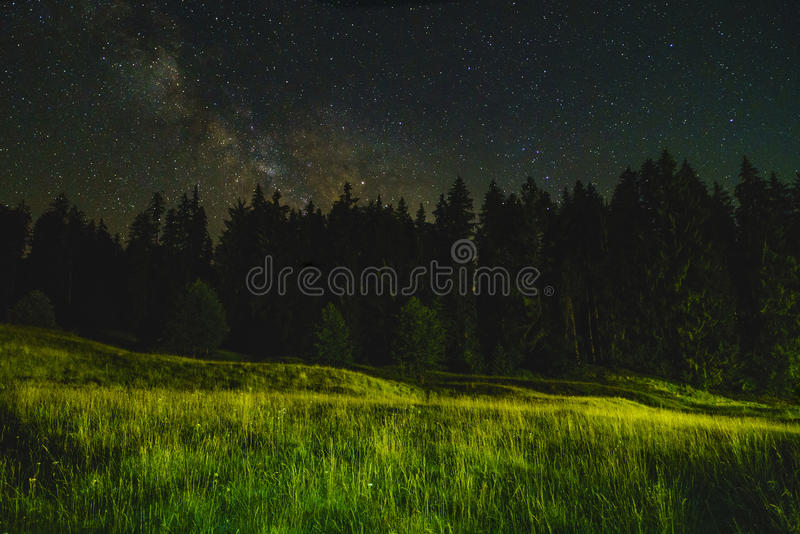 Landscape night stock photography