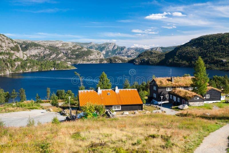 Landscape of Norway stock image
