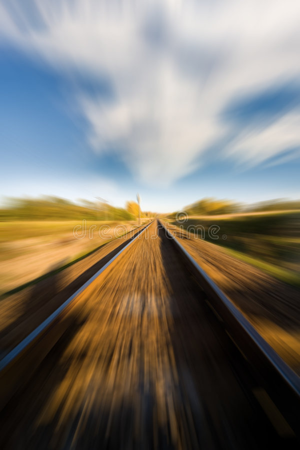 Download Landscape For A Old Railway Abandoned Stock Image - Image: 8532203