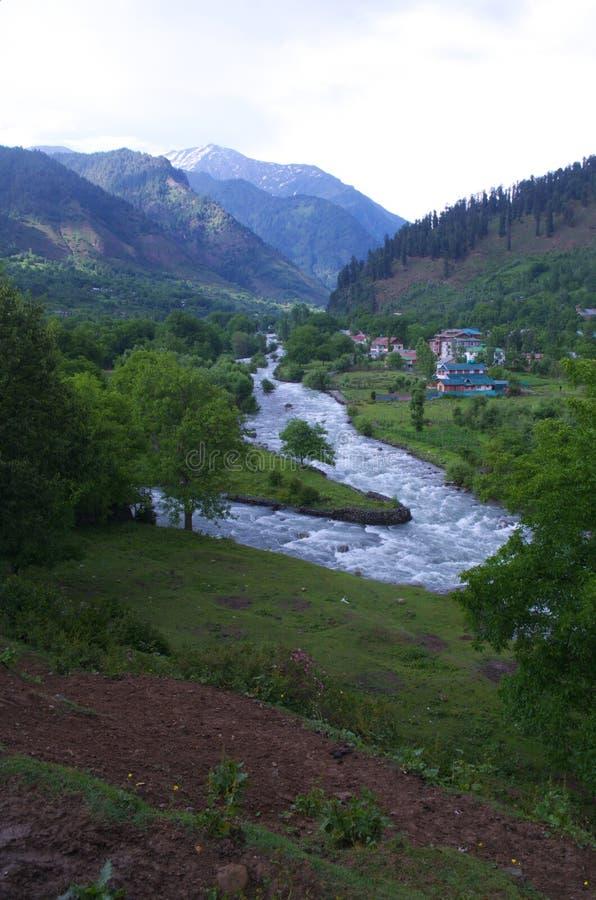 Landscape in Pahalgam-5 royalty free stock photos