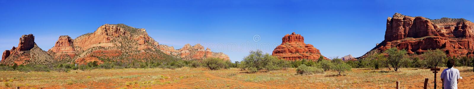 Landscape Panorama - Monument Valley stock photo