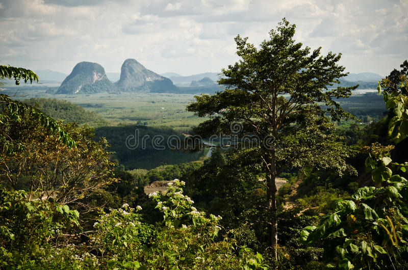 Landscape of Perlis royalty free stock photography