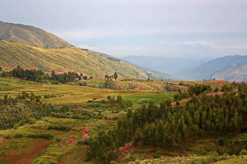 Landscape in Peru royalty free stock images