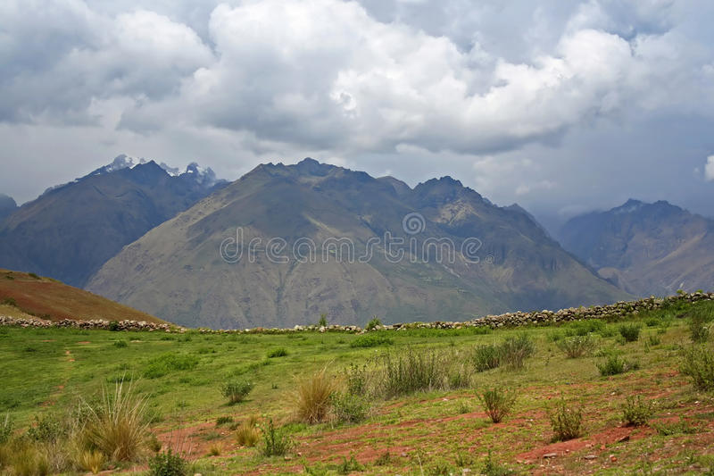Landscape in Peru stock photo