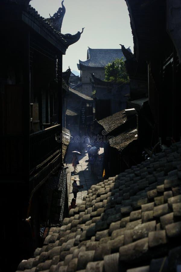 Landscape of Phoenix Ancient Town stock photos