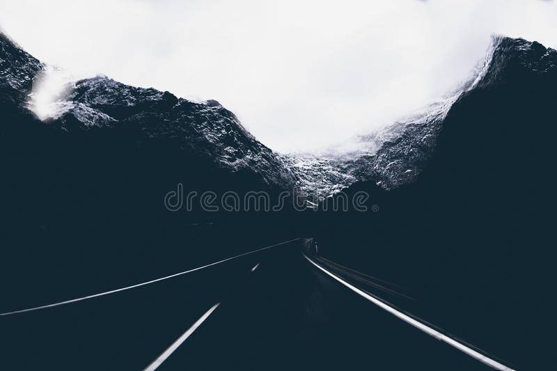 Landscape Photo Of Road In The Middle Of Mountains Free Public Domain Cc0 Image