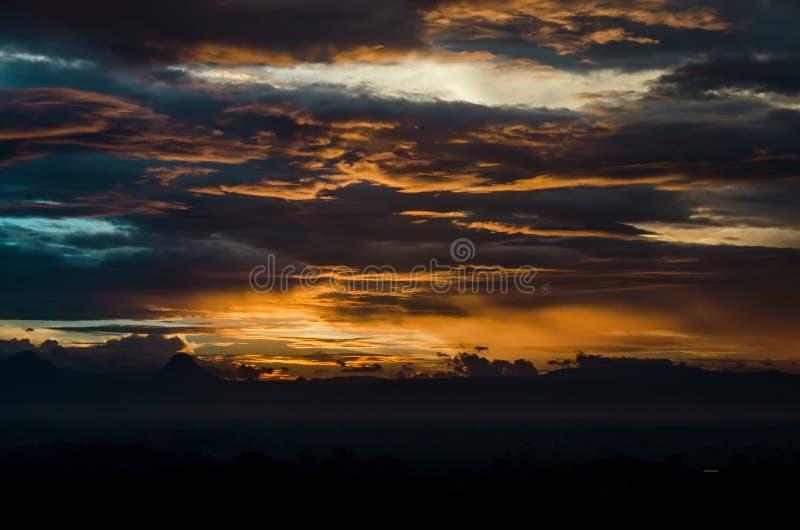 Landscape Photo of Sunrise stock images