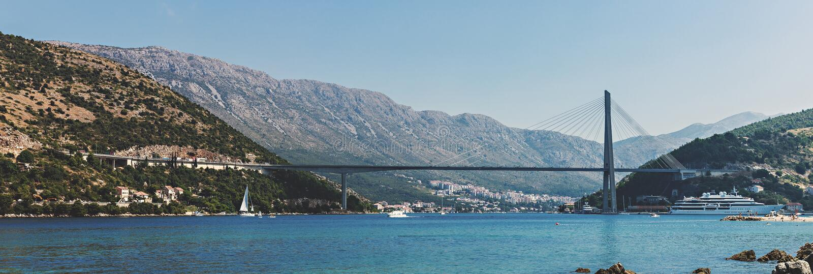 Landscape Photography of Body of Water royalty free stock photography