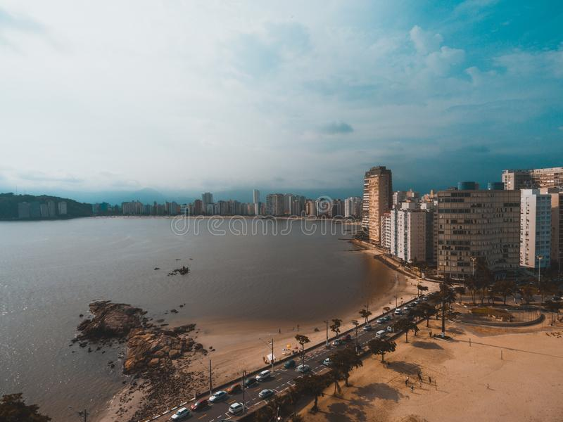 Landscape Photography of City stock photo