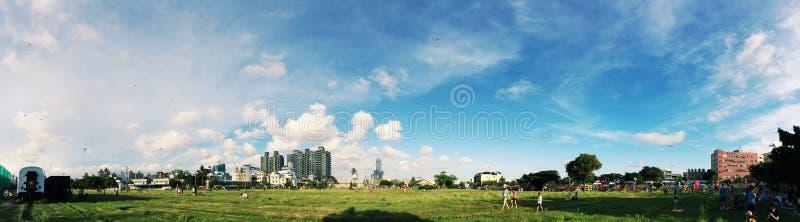 Landscape Photography of City royalty free stock image