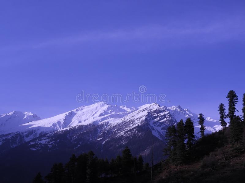 Landscape Photography of Mountain Alps stock photography