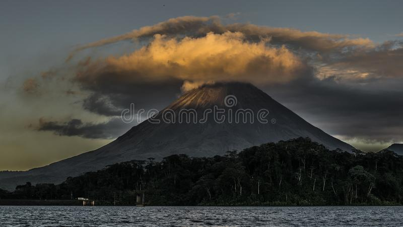 Landscape Photography of Volcano royalty free stock photo