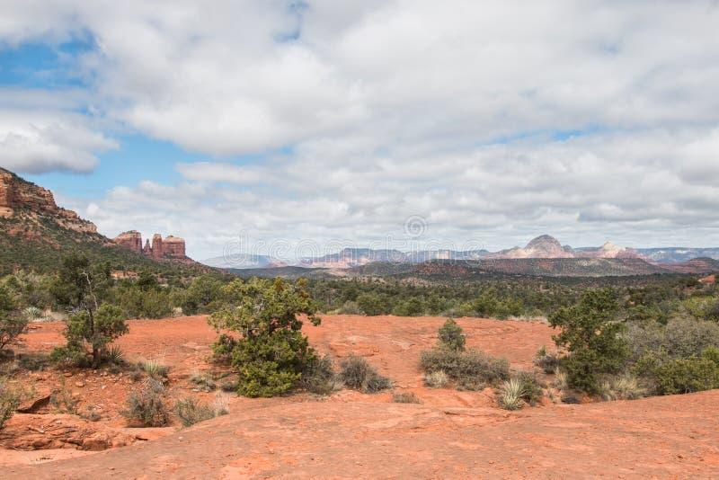 Landscape of Red Rock State park. Arizona, USA royalty free stock photo