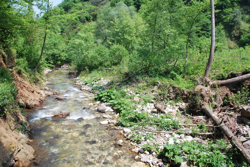 Landscape rive in Turkey stock photos