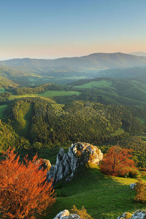 Download Landscape With Rocky Mountains Stock Photo - Image: 20030536