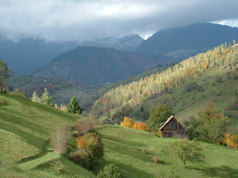 Landscape from romania royalty free stock image