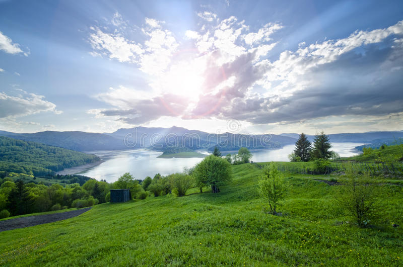 Download Landscape stock photo. Image of blue, mountains, carpathian - 34413776