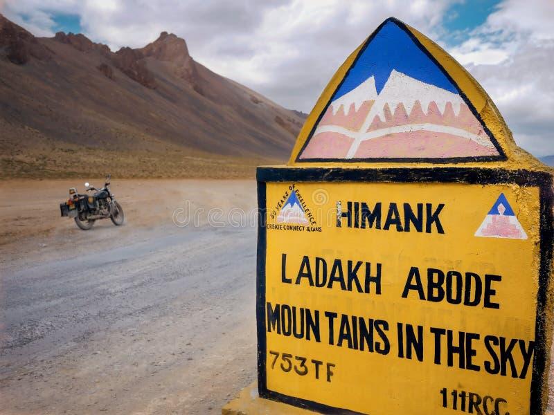 Landscape, Sand, Road, Signage stock image