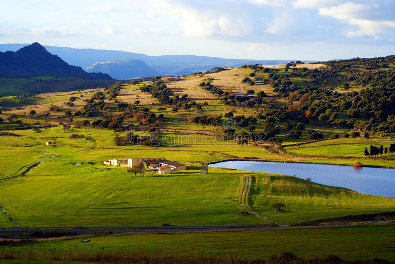 Download Landscape of Sardinia stock photo. Image of agriculture - 17577932