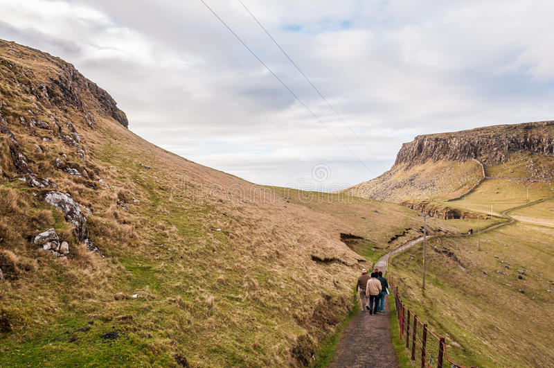Landscape of Scotland royalty free stock image
