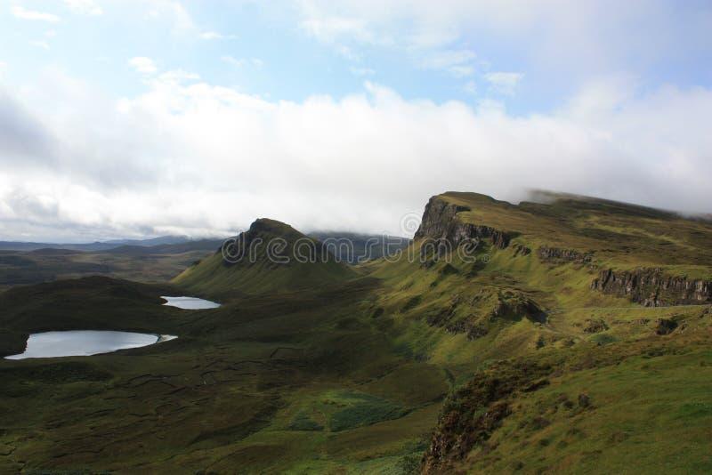 landscape scottish стоковая фотография rf