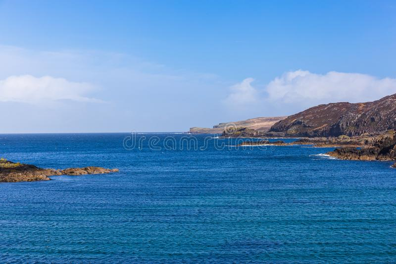 Landscape of Scourie royalty free stock image